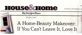 New York Times, House & Home